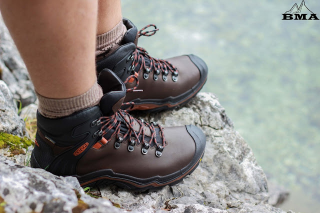 Wandern Eibsee wandern Garmisch KEEN Schuhe Liberty Ridge EU