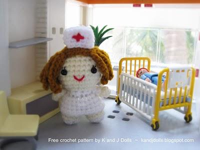 Enfermera Amigurimi Patron Castellano en Pdf
