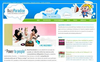 Buzz Paradise te paga por difundir campañas 1
