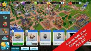 RollerCoaster Tycoon Touch MOD APK