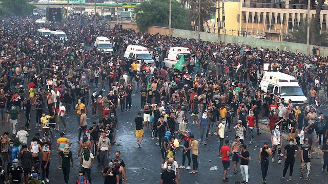 MUNDO: Autoridades de Irán cerraron  paso fronterizo con Irak por protestas en las que han muerto al menos 18 personas.
