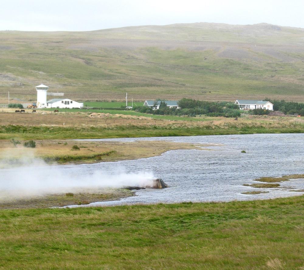 Vellir-Árhver geyser