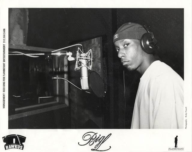 Big L Flamboyant Rawkus Records Publicity Photo