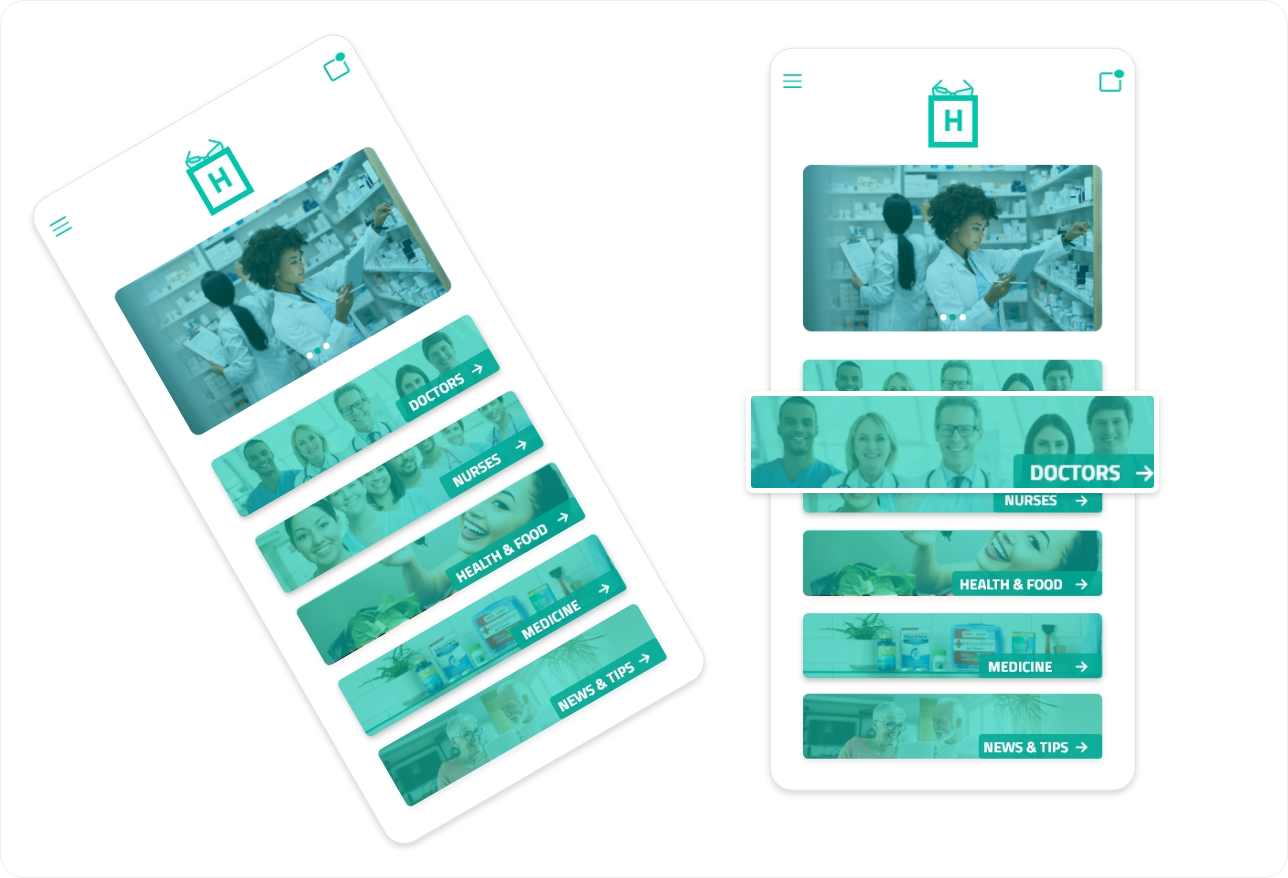 Hospital App a marketplace for patients & doctors to work together.