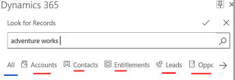 How to add and filter an entity and views on Dynamics 365 App for Outlook