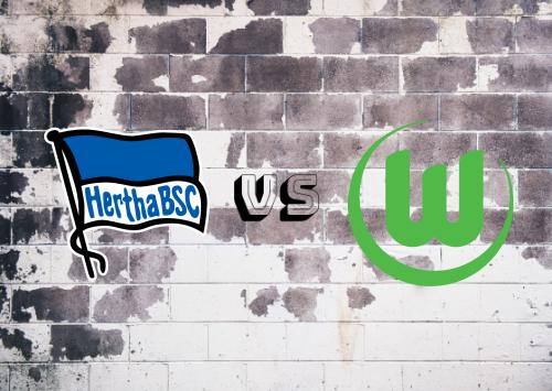 Hertha BSC vs Wolfsburg  Resumen