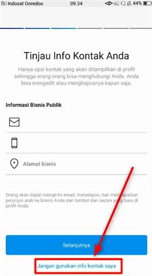 cara mengubah akun instagram pribadi menjadi akun bisnis