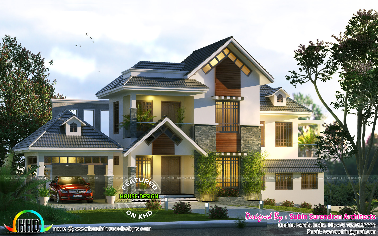 Cute Home Trend Of 2017 Kerala Home Design And Floor Plans