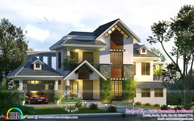 Kerala Home Floor Plans and Design 2017