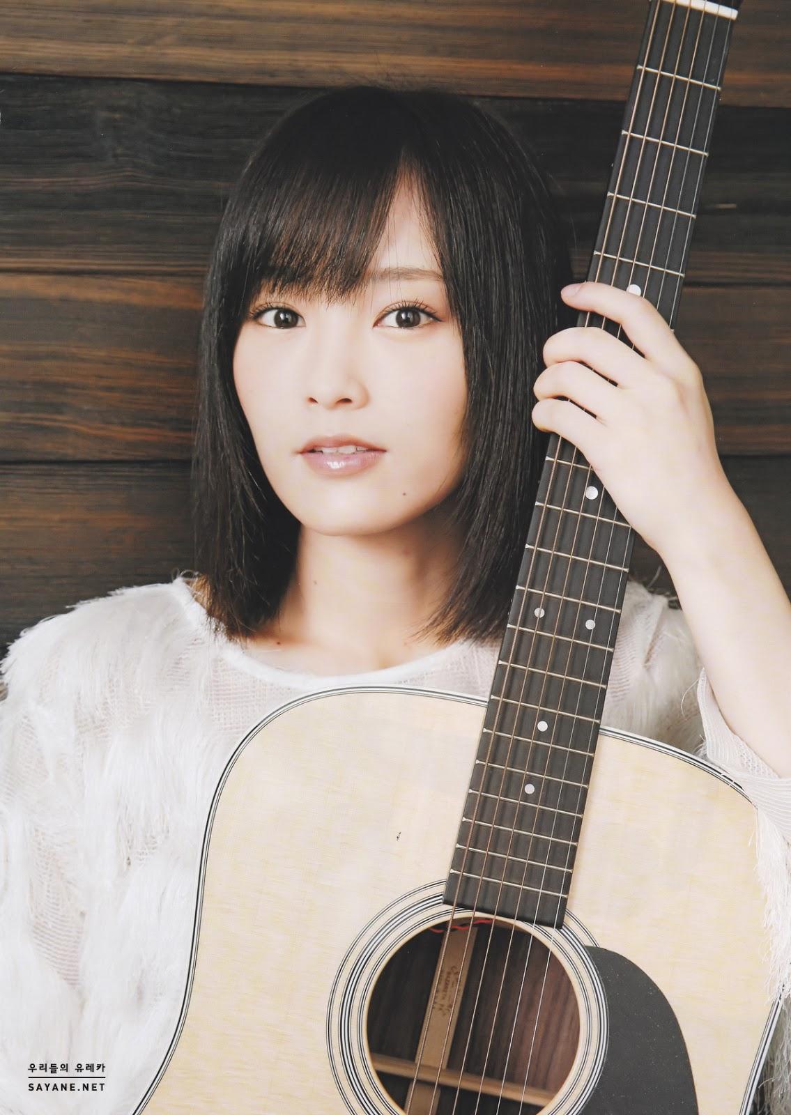 Yamamoto Sayaka 山本彩 NMB48, Acoustic Guitar 2016 Vol.70
