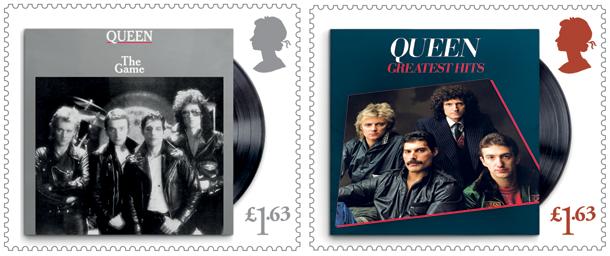 Queen Stamps 3