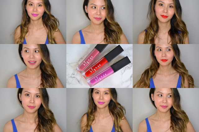 Blynqe Matte Finish Liquid Lipstick Review