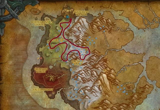Drustvar+winters+kiss+farming+route+2