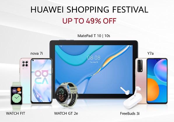 HUAWEI Shopping Festival Saudi Arabia