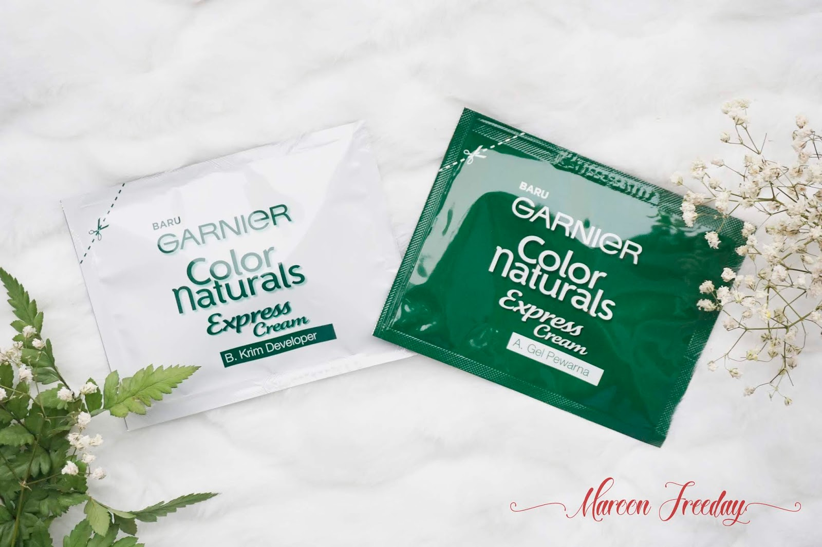 Review Garnier Color Naturals Express Cream