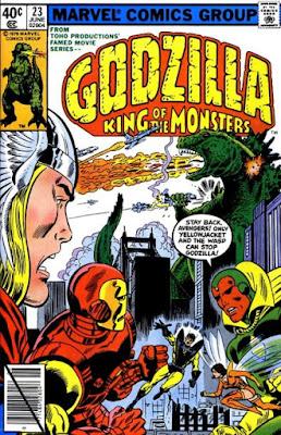 Godzilla #23, the Avengers