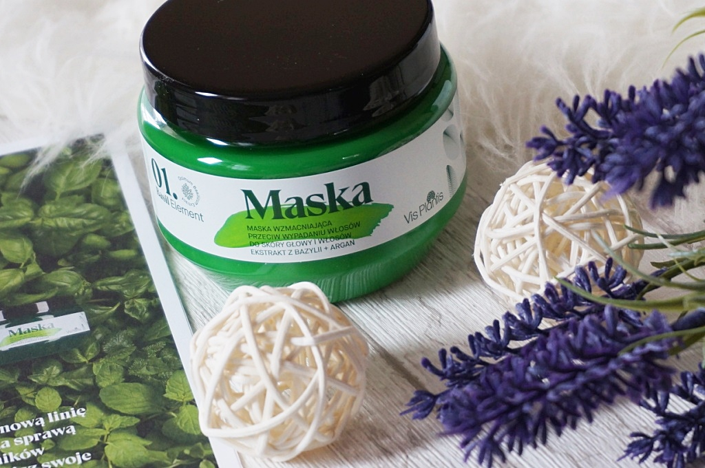 Basil Element maska wzmacniająca przeciw wypadaniu włosów
