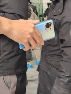 تليفون XIAOMI MI 11 باللون الأزرق