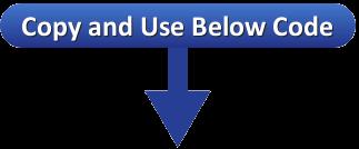 Below demo indicator