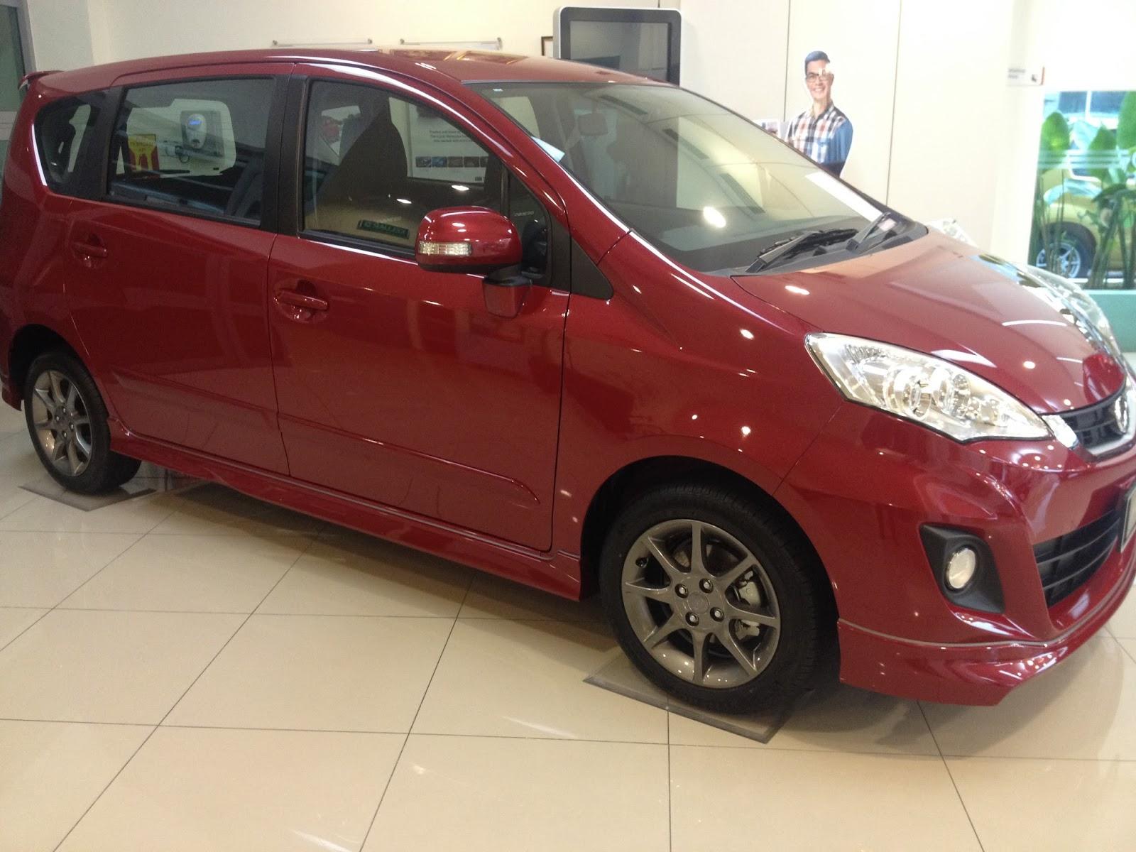 Perodua Alza,Warna pilihan,Varian dan Harga terkini,alza