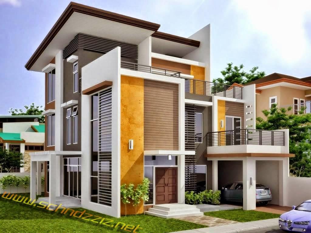 Model Rumah Minimalis 3 Lantai Terbaru 2017
