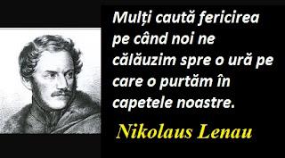 Citatul zilei: 13 august - Nikolaus Lenau