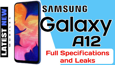 Samsung Galaxy A12 Specifications