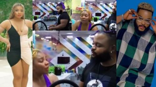 BBNaija: Queen Blows Hot As She Confronts Whitemoney For Sharing Their Issues With Others (Video