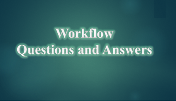 Oracle workflow questions and answers