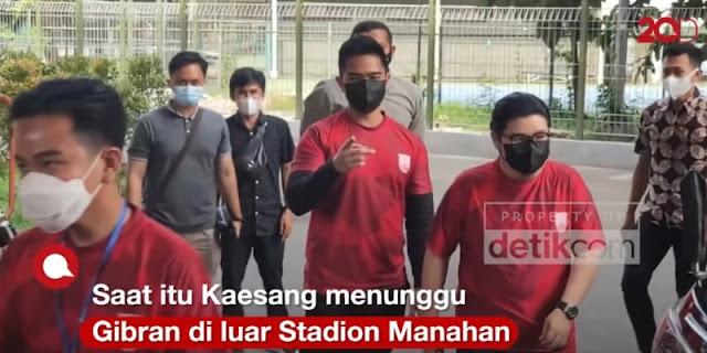 Takut Diciduk Polisi Cyber, Netizen Ogah Komentar Gibran Cuekin Kaesang Di Acara Persis Solo