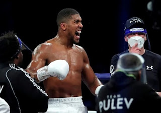 Anthony Joshua maps out strategy against Usyk