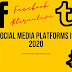 Different Social Media Platforms in 2020 | Alternatives to Facebook