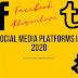 Different Social Media Platforms in 2020 | Alternatives to Facebook
