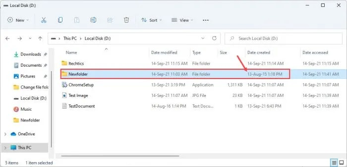 تغيير الطابع الزمني لتاريخ الملف / المجلد باستخدام سطر الأوامر وأدوات أخرى