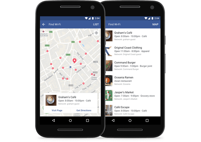 How to use Facebook Find Wi-Fi on iOS and Android Devices