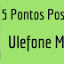 5 Pontos positivos - Ulefone Metal