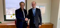 Συνάντηση του Γιάννη Αντωνιάδη με τον υπουργό Περιβάλλοντος και Ενέργειας