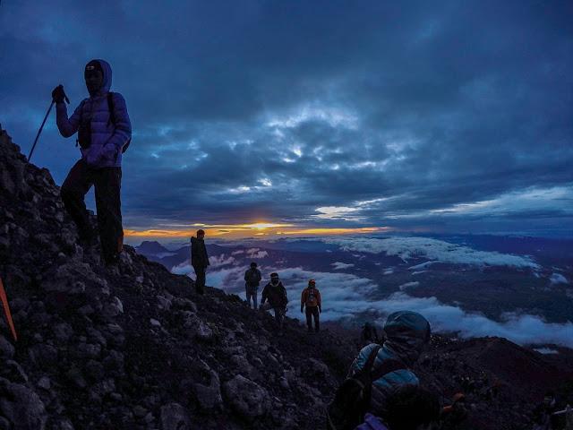 Gunung Kerinci dan Danau Gunung Tujuh Jambi