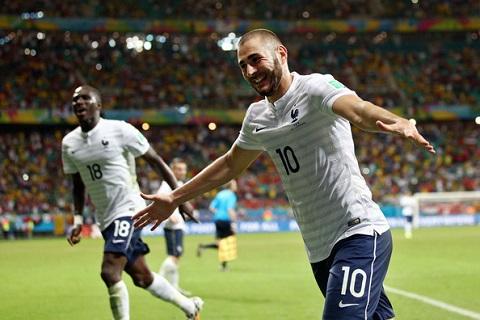 Tuyển Pháp chờ đợi rất nhiều vào Benzema