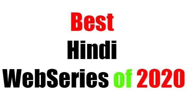 Best Hindi Web series of 2020