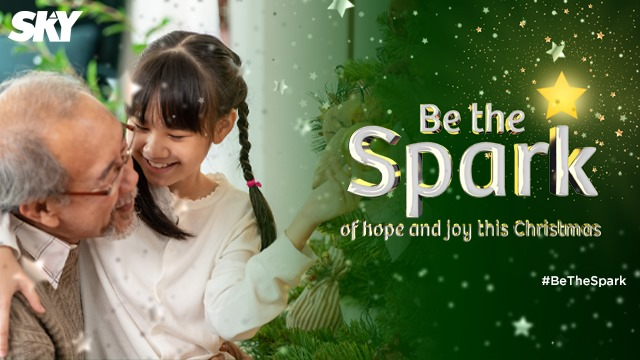 SKY: Be the Spark of Hope and Joy this Christmas!