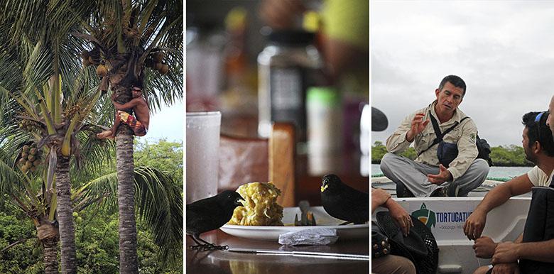 Más allá de las islas, Galápagos, actividades
