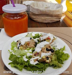 Rendebú cafe Barrio Italia menú entrada