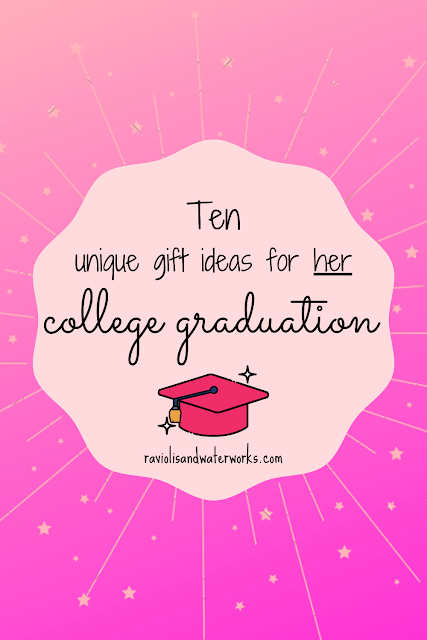 unique college graduation gifts; college graduation gift guide; gifts for her; gifts for graduate