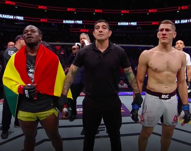 UFC 228 Abdul Alhassan vence a Niko Price