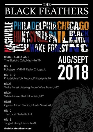 Black Feathers - US tour 2018.