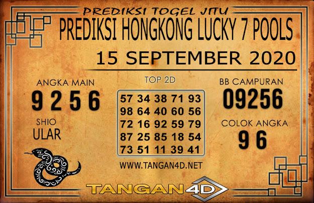 PREDIKSI TOGEL HONGKONG LUCKY 7 TANGAN4D 15 SEPTEMBER 2020