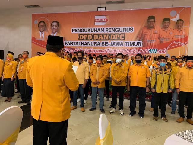 Ketua DPC Hanura Sumenep Yakin Kader Partai Solid Dukung Fattah-Kiai Fikri
