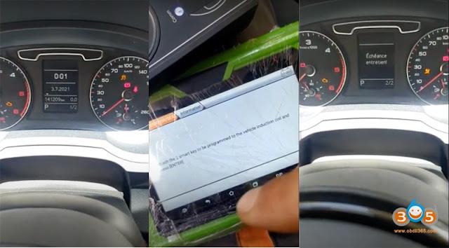 OBDSTAR X300 Pro4 Program Audi Q3 2013 Key 10