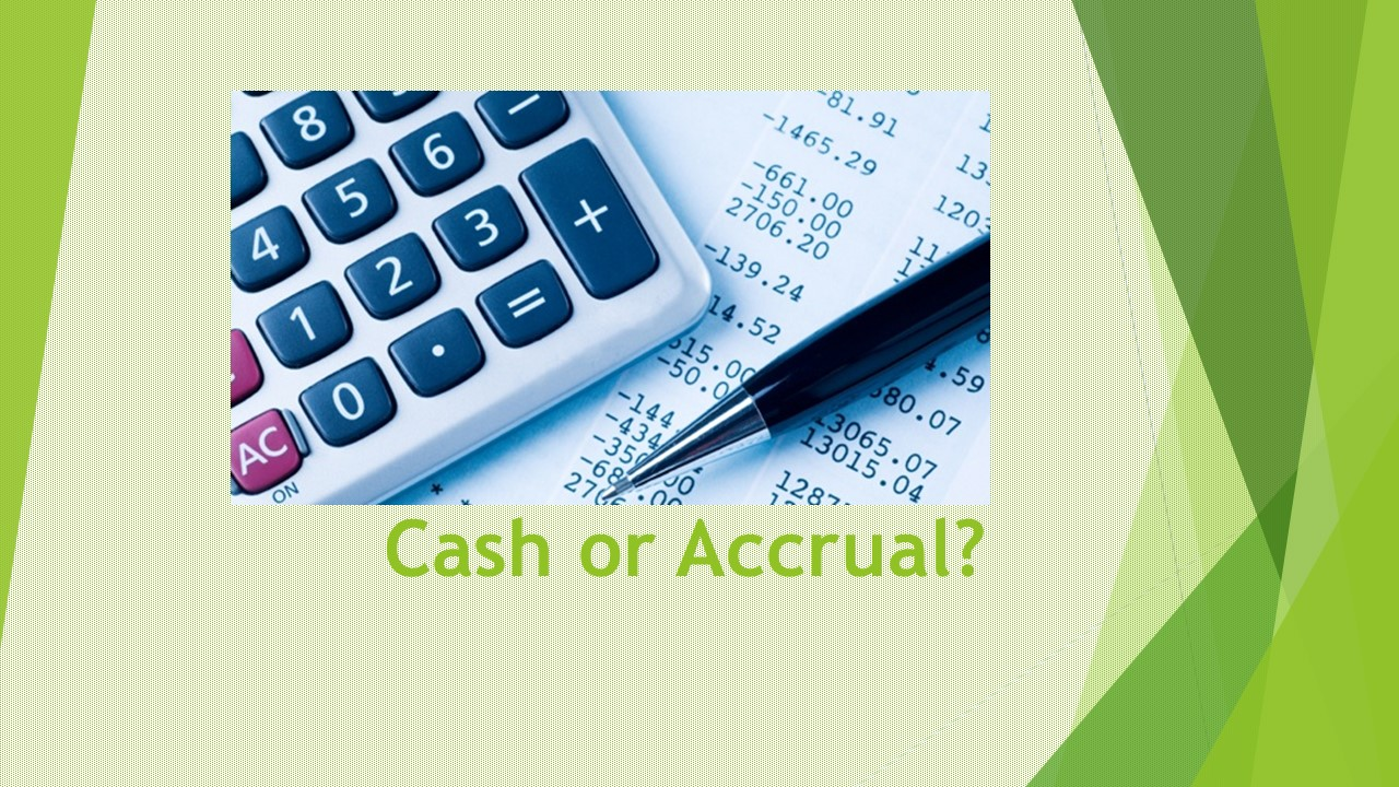 illustration of cash and accruals Chapter 3 the accrual basis of accounting each of the preceding illustrations represents a the accrual and cash bases of accounting.